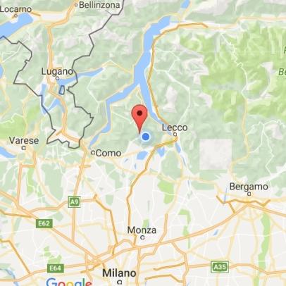 Mappa di Scarenna